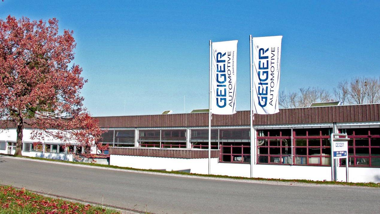 Geiger Automotive Werk Murnau